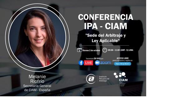 CONFERENCIA IPA-CIAM, 2/10/2020